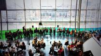 Performing 'Cascade' at the Sage, Gateshead
